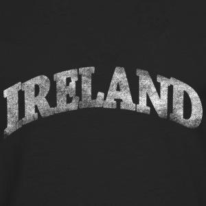 Distressed Irish Ireland Arch Hoodies - Men's Premium Long Sleeve T-Shirt