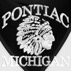 Pontiac Michigan Native American Hoodies - Bandana
