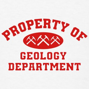 Property Of Geology Department Mug - Men's T-Shirt