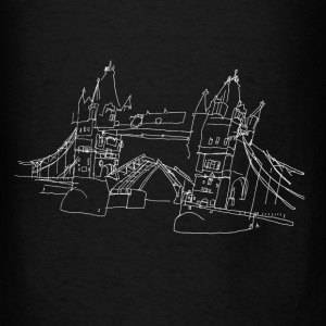 London Tower Bridge w Bags & backpacks - Men's T-Shirt