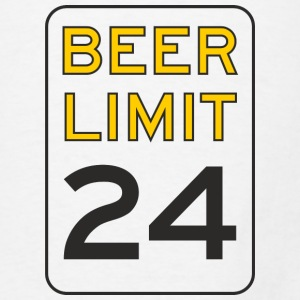 Beer Limit Mouse pad Vertical - Men's T-Shirt