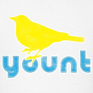 A robin on a Yount Baseball Hoodies - Men's T-Shirt