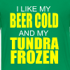 Beer Cold & Tundra Frozen  - Kids' Premium T-Shirt