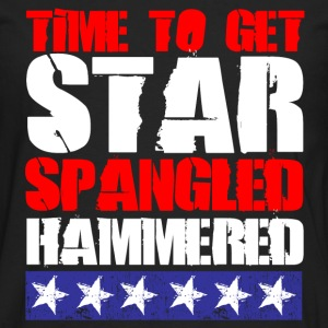 Star Spangled Hammered T-Shirts - Men's Premium Long Sleeve T-Shirt