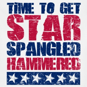 Star Spangled Hammered Women's T-Shirts - Adjustable Apron