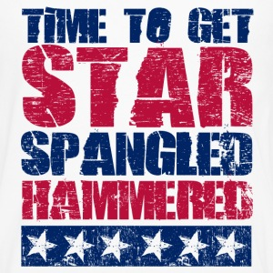 Star Spangled Hammered Women's T-Shirts - Men's Premium Long Sleeve T-Shirt