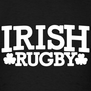 Irish Ireland Rugby Shamrocks Hoodies - Men's T-Shirt