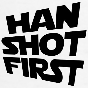 Han Shot First Cap - Men's T-Shirt