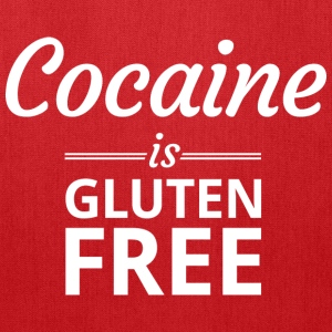 Cocaine is Gluten Free Tank Tops - Tote Bag