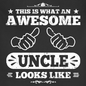 Awesome Uncle Looks Like T-Shirts - Adjustable Apron