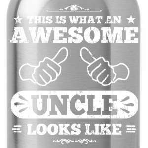 Awesome Uncle Looks Like T-Shirts - Water Bottle