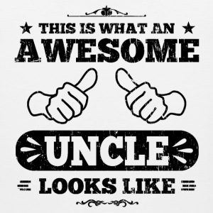Awesome Uncle Looks Like T-Shirts - Men's Premium Tank