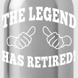 the legend has retired T-Shirts - Water Bottle