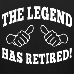 the legend has retired T-Shirts - Men's Premium Tank