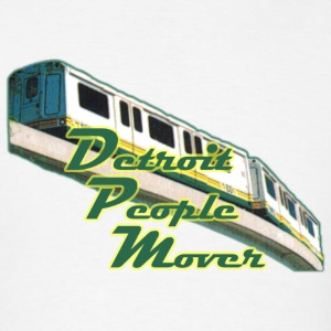 Detroit People Mover Old School Hoodies - Men's T-Shirt