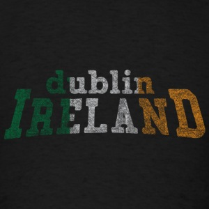 Dublin Ireland Flag Irish Flag Long Sleeve Shirts - Men's T-Shirt