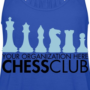 Chess Club - Women's Flowy Tank Top by Bella