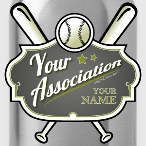 Baseball Association - Water Bottle