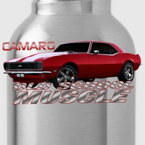 Camaro Old School Muscle - Water Bottle