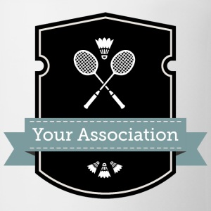 badminton association - Coffee/Tea Mug