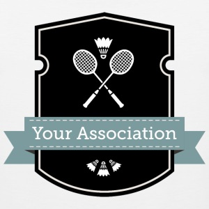 badminton association - Men's Premium Tank