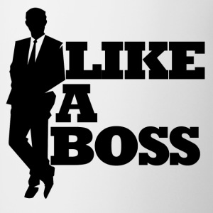 Like a boss bosses day - Coffee/Tea Mug