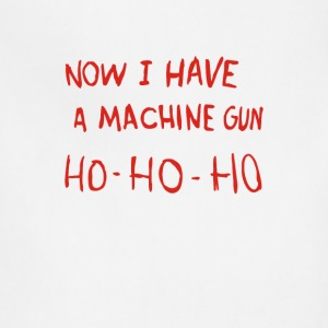 Die Hard - Now I Have A Machine Gun Ho-Ho-Ho - Adjustable Apron