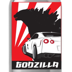 Nissan GTR Godzilla - Water Bottle