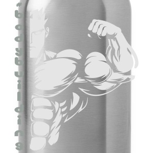 bodybuilding tag T-Shirts - Water Bottle