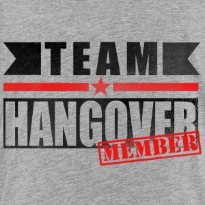 TEAM HANGOVER Kids' Shirts - Toddler Premium T-Shirt