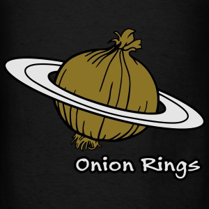 Onion Rings - The rings of onion planet Bags & backpacks - Men's T-Shirt
