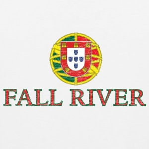 Fall River Portugal Portuguese Flag Kids' Shirts - Men's Premium Tank