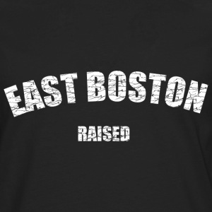 East Boston Raised Love T-Shirts - Men's Premium Long Sleeve T-Shirt
