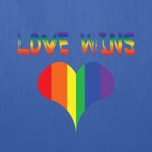 love wins Baby & Toddler Shirts - Tote Bag