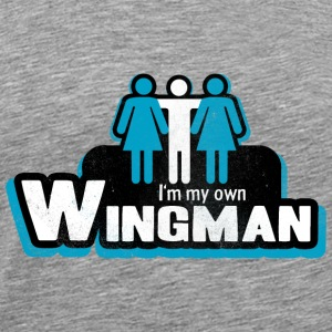 I'm my own Wingman Sweatshirts - Men's Premium T-Shirt