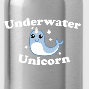 Underwater Unicorn Shirt! - Water Bottle