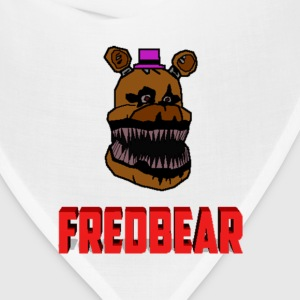 FNAF 4: Cartoon Fredbear Kids' Shirts - Bandana