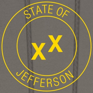 State of Jefferson T-Shirts - Men's Hoodie