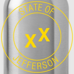 State of Jefferson T-Shirts - Water Bottle