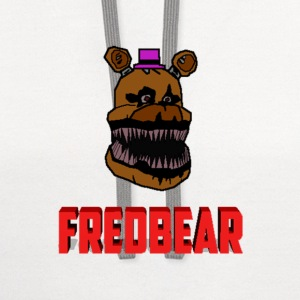 FNAF 4: Cartoon Fredbear T-Shirts - Contrast Hoodie