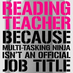 reading teacher ninja Women's T-Shirts - Water Bottle