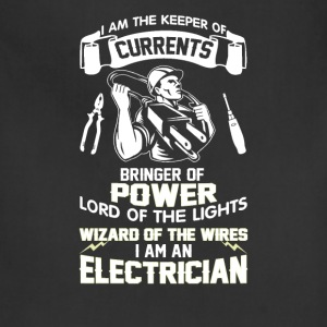 I AM AN ELECTRICIAN - Adjustable Apron