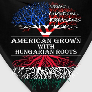 American Grown With Hungarian Roots - Bandana