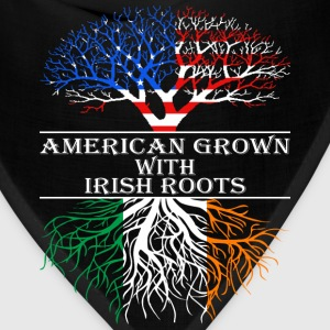 American Grown With Irish Roots - Bandana