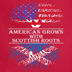 American Grown With Scottish Roots - Adjustable Apron