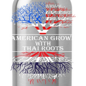 American Grown With Thai Roots - Water Bottle
