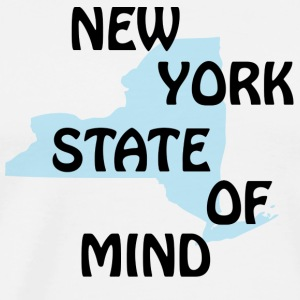 NY New York State of Mind Long Sleeve Shirts - Men's Premium T-Shirt