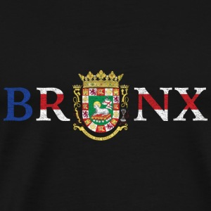 Bronx Puerto Rico Pride New York Flag Long Sleeve Shirts - Men's Premium T-Shirt