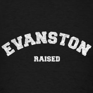 Evanston Illinois Raised Long Sleeve Shirts - Men's T-Shirt