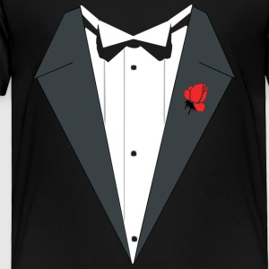 TUXEDO SHIRT Kids' Shirts - Toddler Premium T-Shirt